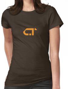 COMATONE LOGO - ORANGE Womens Fitted T-Shirt