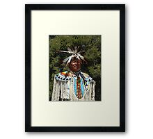 Navajo Chief Framed Print