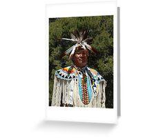 Navajo Chief Greeting Card
