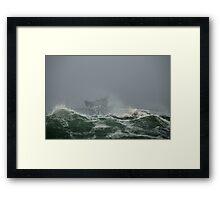USCG Motor Lifeboat – Eastern Point, Gloucester Framed Print