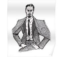 Nikolai Portrait Poster
