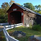 Green River Covered Bridge - Guilford, Vermont by Steve Borichevsky