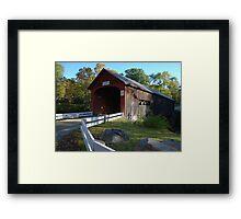 Green River Covered Bridge - Guilford, Vermont Framed Print