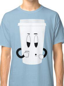 Sleepy Cup of Coffee Classic T-Shirt