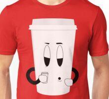 Sleepy Cup of Coffee Unisex T-Shirt