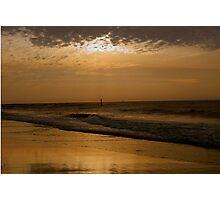 Golden Sky Tones     ^ Photographic Print