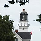 Cape Elizabeth Light - Maine by Steve Borichevsky