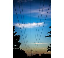 Electricity Photographic Print