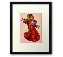 Iron Manatee Framed Print