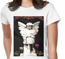 Angel in my Garden Womens Fitted T-Shirt