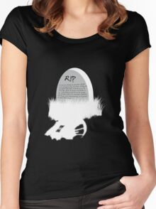 You did this to him inversed Women's Fitted Scoop T-Shirt