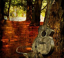 Country Guitar by Trudy Wilkerson