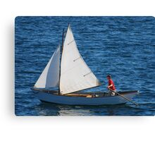 Tom's Sail Dory  Canvas Print