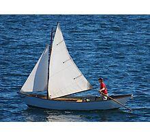 Tom's Sail Dory  Photographic Print