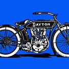 Dayton Motorcycle by Kawka