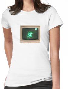 COMATONE - E-50 TV LOGO. Womens Fitted T-Shirt