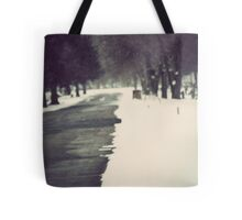 Just Ahead Of Me Tote Bag