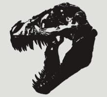 T-Rex Skull by NordicBuckeye