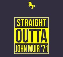 Straight Outta John Muir '71 Dark Blue Unisex T-Shirt