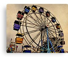 Yesterday at the Fair Canvas Print