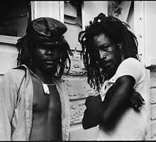 Rastafarian Men by HaiiJeuss