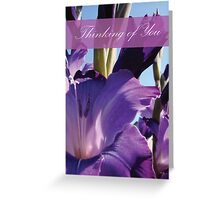 Thinking of You Greeting Card Greeting Card