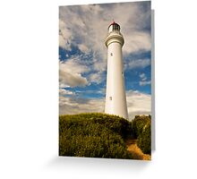 Split Point Walk,Aireys Inlet. Greeting Card