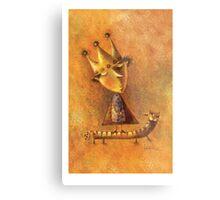 king Metal Print