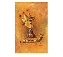 king Photographic Print