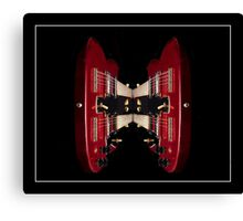 Double-Neck Guitar Canvas Print