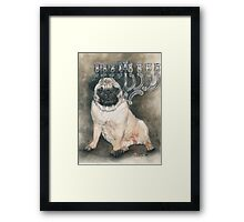 I'll Just Wait Here Framed Print