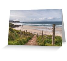 Down To Sennen Cove Greeting Card