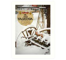 The Old Hashienda Art Print