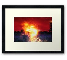 Personal Hell Framed Print