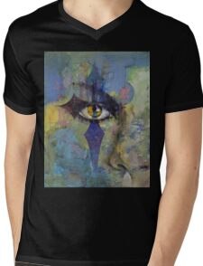 Gothic Art Mens V-Neck T-Shirt