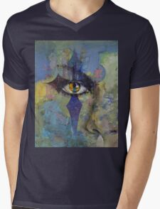 Gothic Art Mens V-Neck T-Shirt