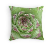 Dew crown Throw Pillow