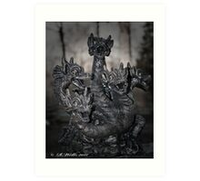 Magic Dragon Art Print