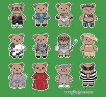 Bear GaGa Kids Tee