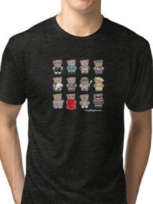 Bear GaGa Tri-blend T-Shirt