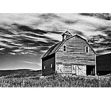 Palouse Barn Photographic Print