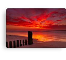 """Tongues of Fire"" Canvas Print"