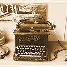 Old Typewriter by Rosalie Scanlon