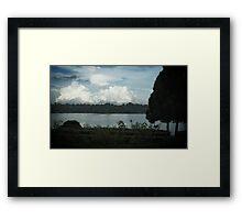 Beyond the River Framed Print