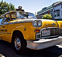 Marin County Taxi by Peter Klemek