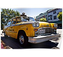 Marin County Taxi Poster