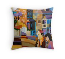 BATTERY POINT II, HOBART, TASMANIA Throw Pillow