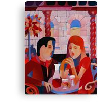 THE DINERS II Canvas Print