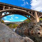 Bellows Bridge and Falls by Joe Jennelle