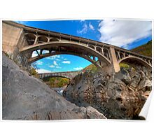 Bellows Bridge and Falls Poster